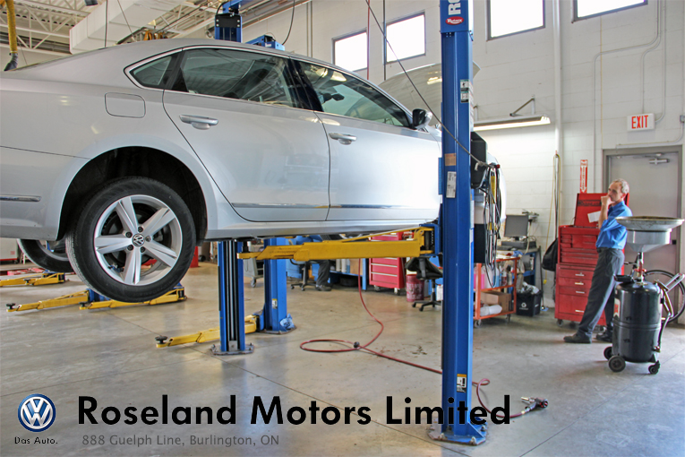 Service at Roseland Motors Ltd.